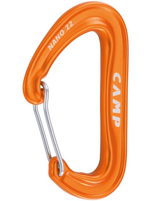 Camp Nano 22 - Mousquetons - orange